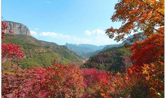 朝阳沟四季景点特色